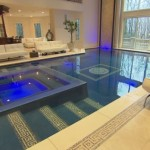 Jersey Features Salt Water Swimming Pool Its Main Living Area