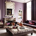 Just Enough And Not Too Much Purple Interior Design