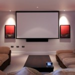 Kent Home Movie Room Installation Dual Screen Surround