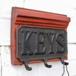 Key Coat Hook Wall Hooks Created From Salvaged Antique Piano Wood