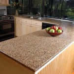 Kitchen Countertops For Preparing The Foods Recycled Glass
