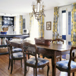 Kitchen Dining Design Carpet Separate Room And