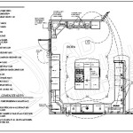 Kitchen Floor Plans Layouts Drawings Drafting