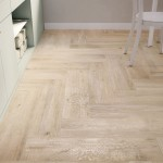 Kitchen Floor White Contemporary Wood Look Tiles House Designs