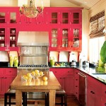Kitchen Home Decor Trends Red Color