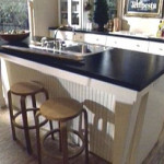Kitchen Island Sink Mainly Used For Food Preparation