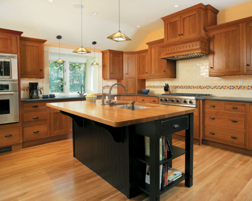 Kitchen Island Sink Well Placed Can Increase