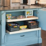 Kitchen Island Toy Drawer Pull Out