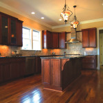 Kitchen Islands Island Stained Hollingsworth Cabinetry