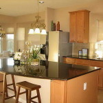 Kitchen Islands Seating And Window