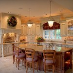 Kitchen Islands Seating Colonial