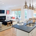 Kitchen Living Room Design Open Space And