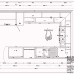 Kitchen Small Design Blueprints Layout The Room