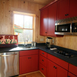 Kitchen Style Small Island Design Red