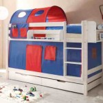 Knuthw Blau Rot Bunk Bed Blue And Redbunk Beds Storage For