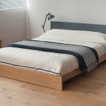 Koo Low Wooden Bed Modern Painted Beds Natural Company