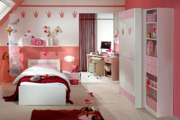 Ladies Chamber Paint Ideas Beautiful For Girls Bedroom