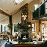Lake House Eclectic Living Room Love Rooms