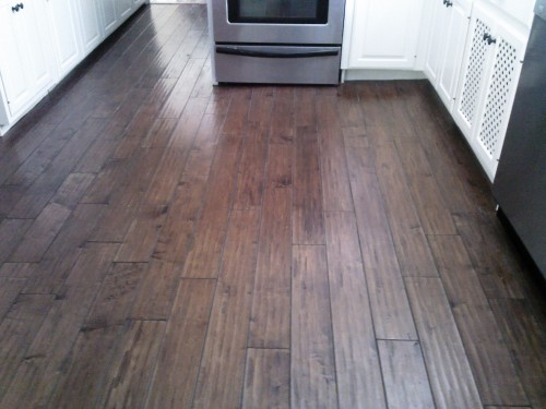 Laminate Floors Require Very Little Maintenance Just Sweep And