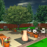 Landscape Design Plan For Outdoor Entertaining Garden Landscaping