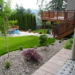 Landscape Designs For Backyard Create Space Elegant Outdoor