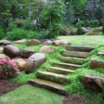 Landscaping Stone Designs That May Make The House Look Best