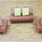 Large Image Architectural Model Furniture Interior Soft Pottery Sofa