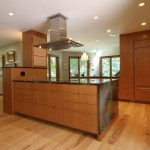 Large Kitchen Island Drawers Ceiling Hood