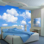 Large Wall Mural Clouds Add