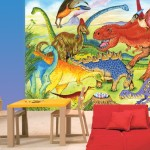 Large Wall Mural Dinosaurs Add