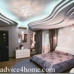 Latest Ceiling Design Gray Wall Paint Badroom For Home