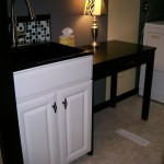 Laundry Room Turned Second Small Bathroom Into