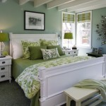Layered Green Bedroom Home Decor Inspiration