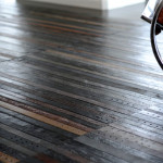 Leather Belt Flooring Made From Recycled Belts Creating