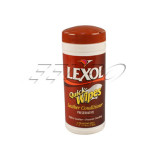Leather Conditioner Single Use Wipe Canister Lexol Free