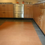 Leather Floor Tiles From Our Echelon Collection Toffee Buffalo