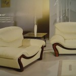 Leather Furniture Elegant Sofa Evergreenata