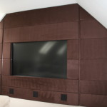 Leather Walls And Wall Tiles Harcourt Design Limited