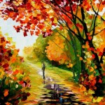 Leonid Afremov Painting Patterns Colors