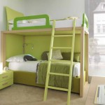 Letti Castello Bunk Beds For Green