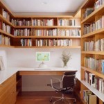 Library Like Shelving Ideas For Small Work Space Zeospot