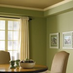 Light Green Mossy Dining Room Paint Colors
