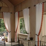 Like Best White And Red Window Treatments Patterns For Bow Windows