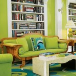 Lime Green Analogous Colour Scheme