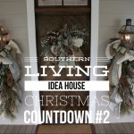 Living Idea House Redecorated For Holidays Castle Custom Homes