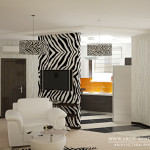 Living Room Architectural Rendering Visualization Interior