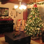 Living Room Christmas Decorations Rooms