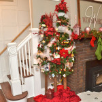Living Room Christmas Trees And Holiday Decor