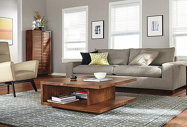Living Room Coffee Table That Provides Storage How Decorate