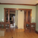Living Room Entrance Columns From Fire Fabulous